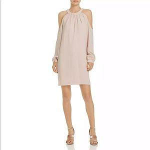 BCBG MAXAZRIA Dress Josephine Cold Shoulder Halter